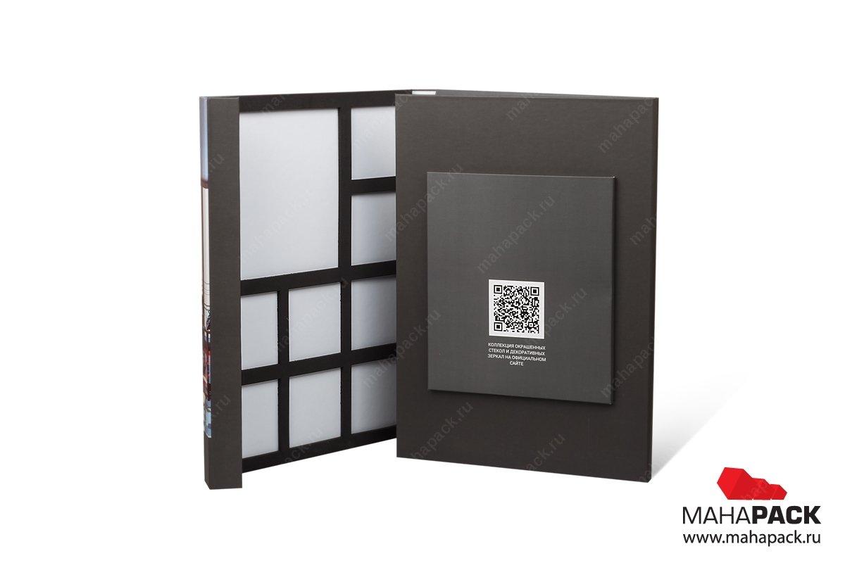 презентационная папка для образцов стекла