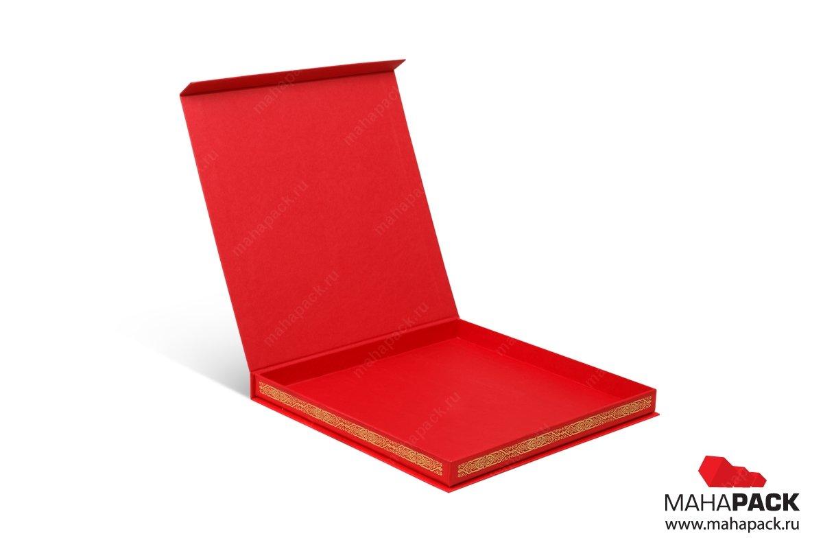 заказать упаковку с откидной крышкой