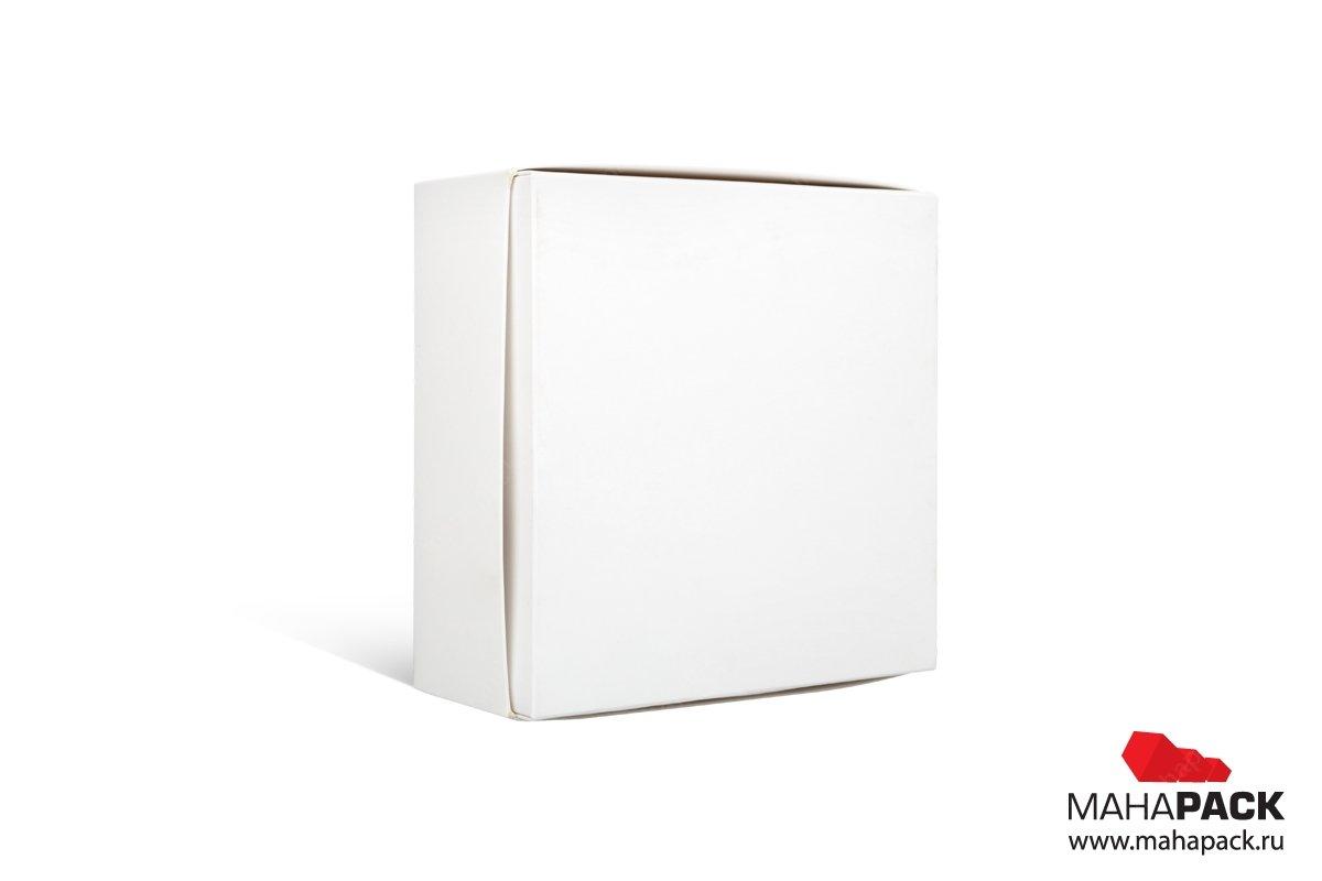 подарочная коробка с логотипом с матовой ламинацией