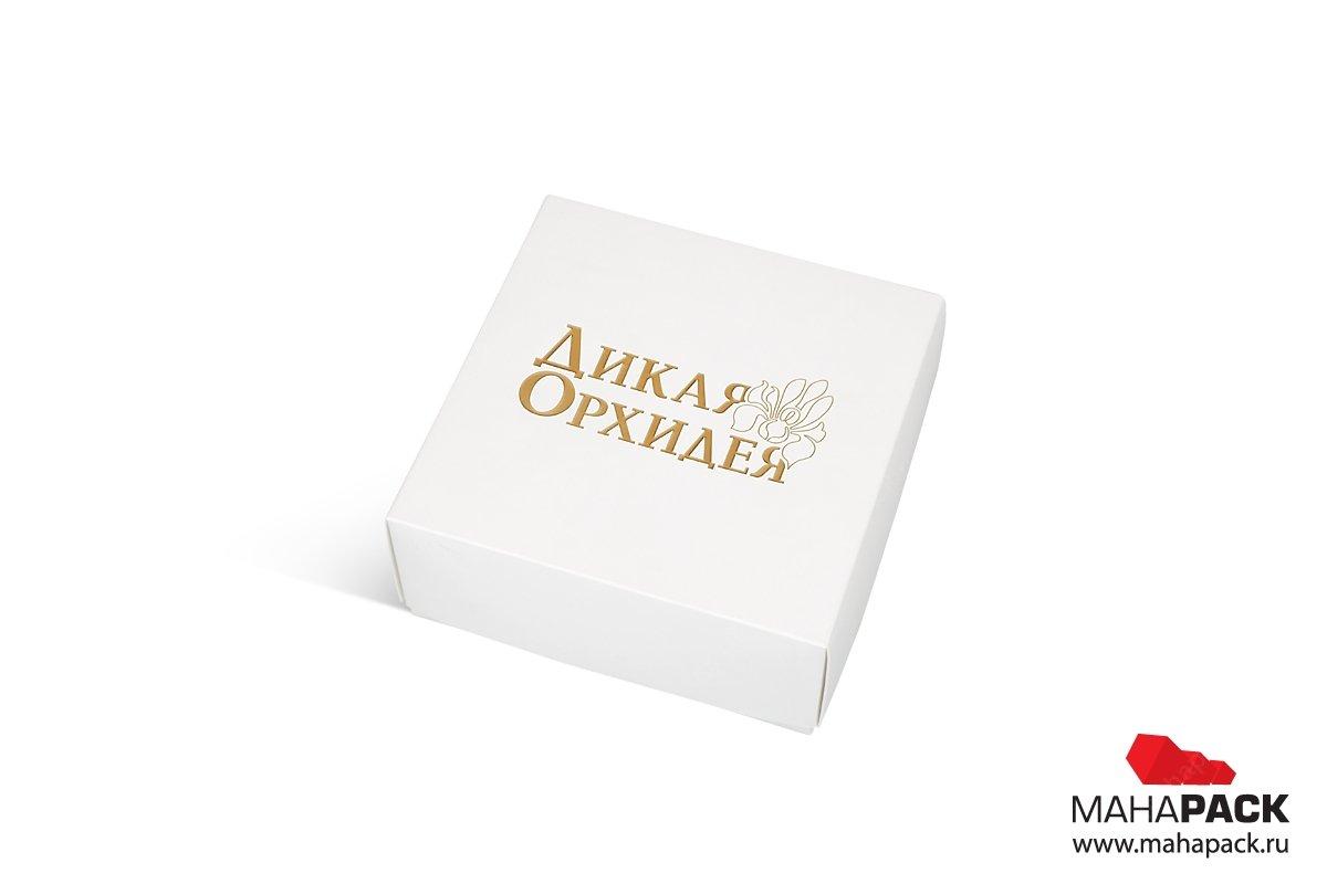 подарочная коробка с тиснением фольгой