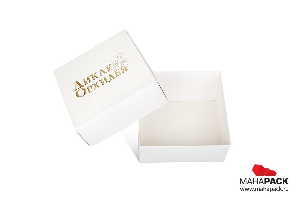 подарочная коробка с логотипом большим тиражом