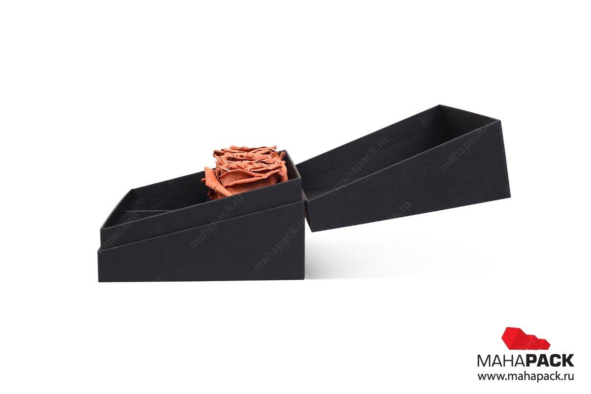 подарочная коробка из переплетного картона