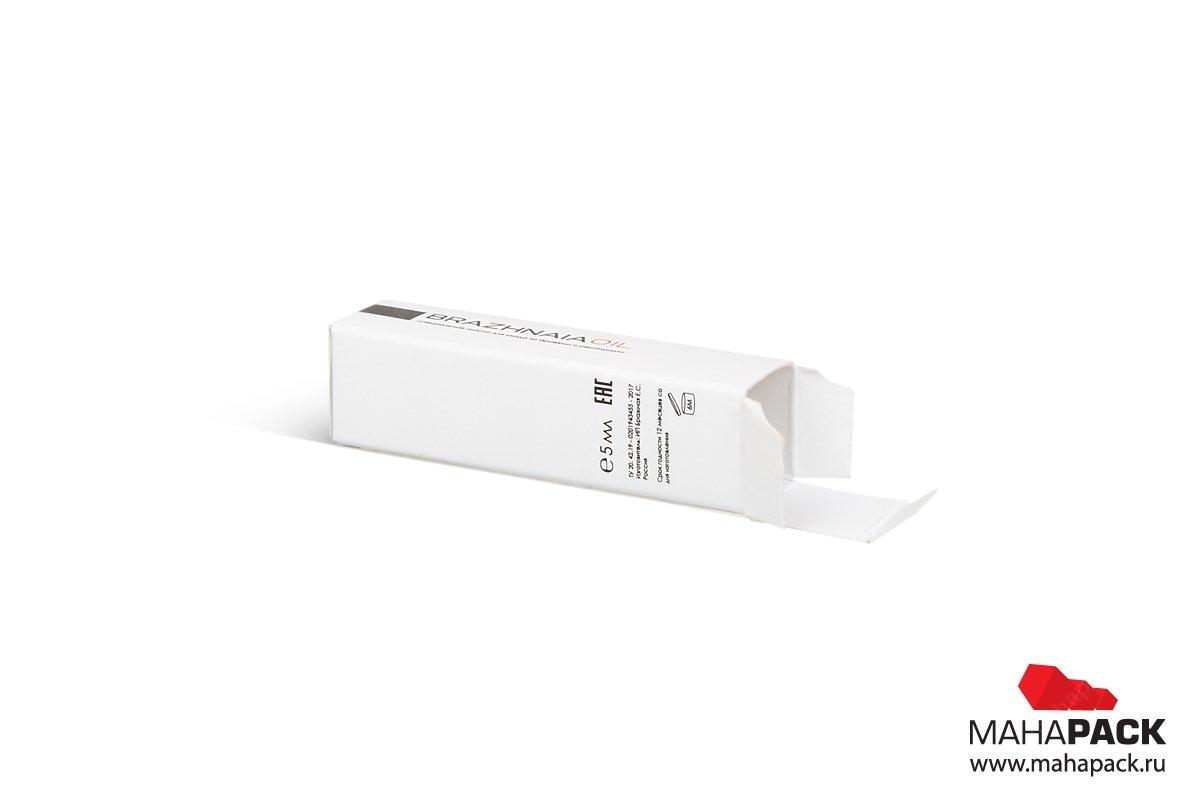 изготовление коробок под заказ из мелованного картона