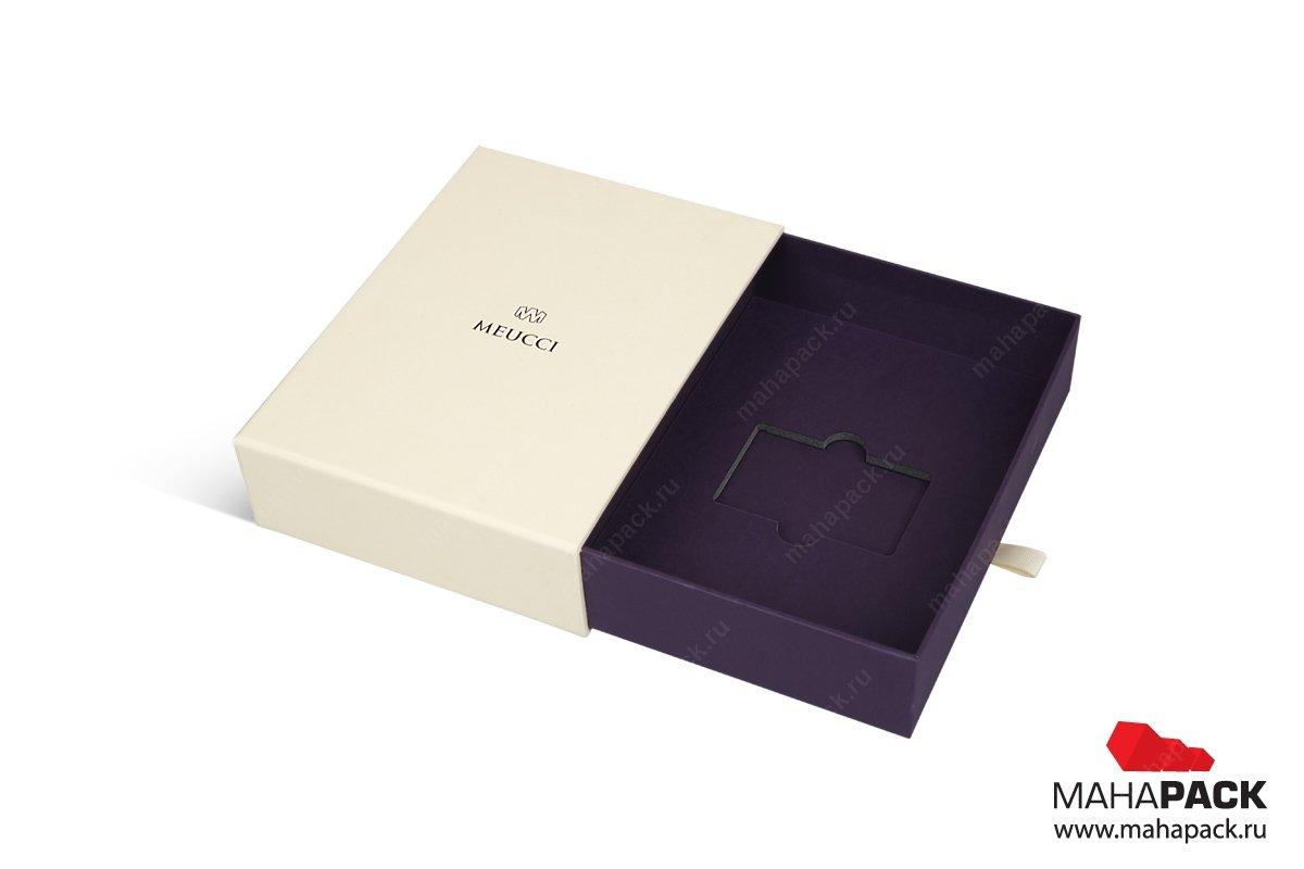 упаковка для подарочных карт печать шелкографией