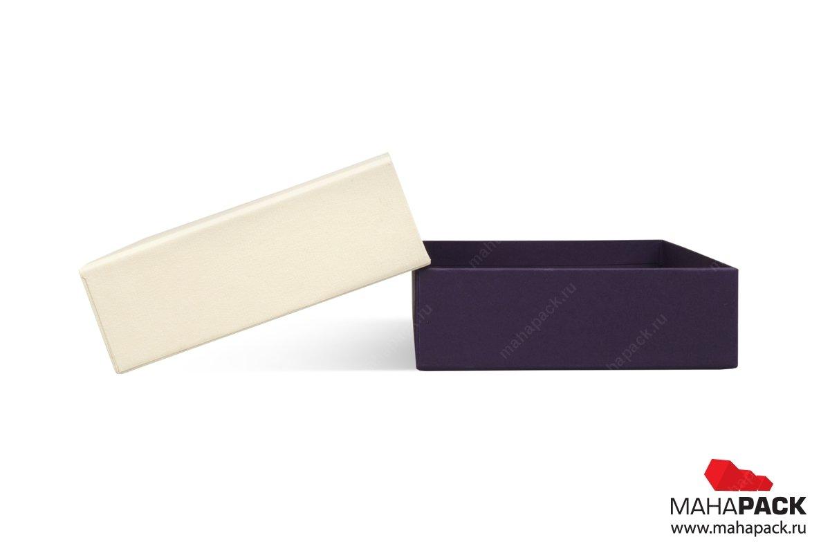 упаковка для подарочных карт кашированная коробка
