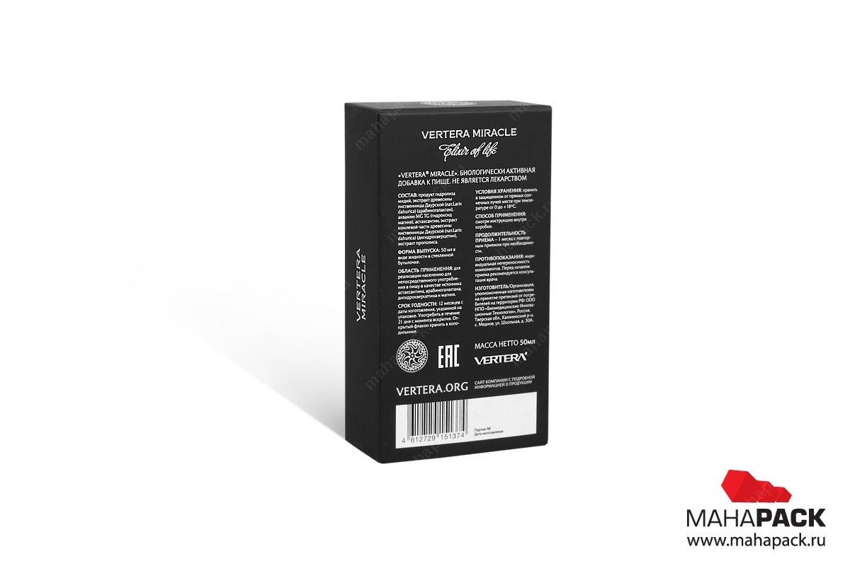 изготовление коробок с логотипом печать шелкографией