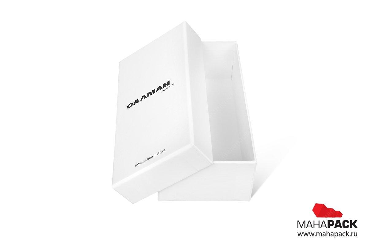 заказать упаковку с логотипом переплетный картон