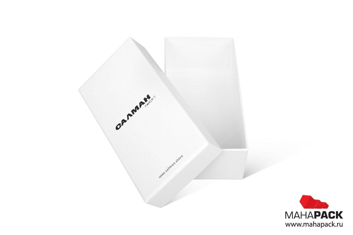 заказать упаковку с логотипом и матовой ламинацией