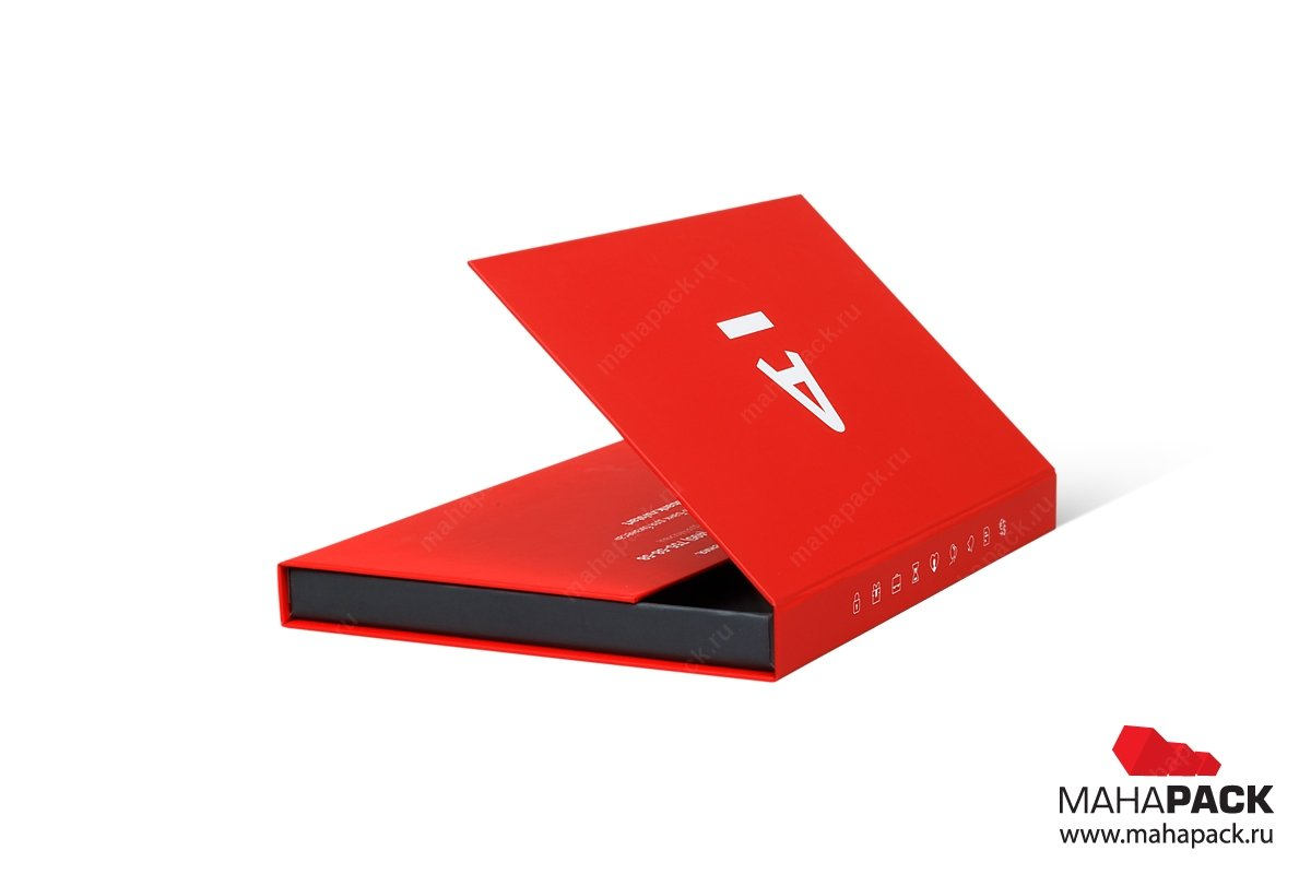 упаковка для пластиковых карт клапан на магните