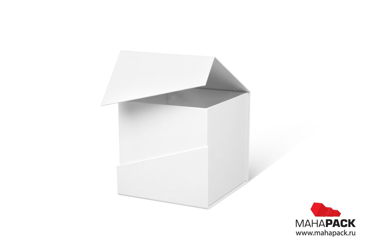 коробки под заказ с клапаном на магните
