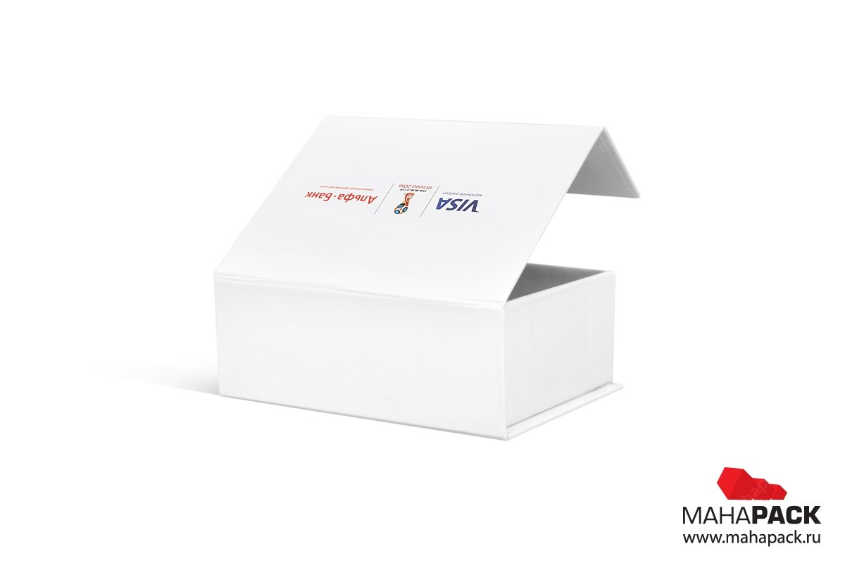 упаковка для флешки с логотипом