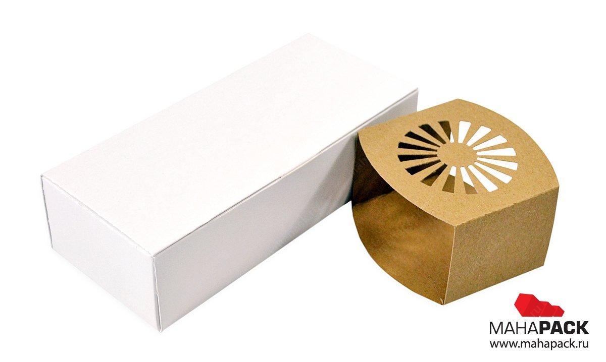 Фирменная упаковка с двойными бортами с изящной обечайкой