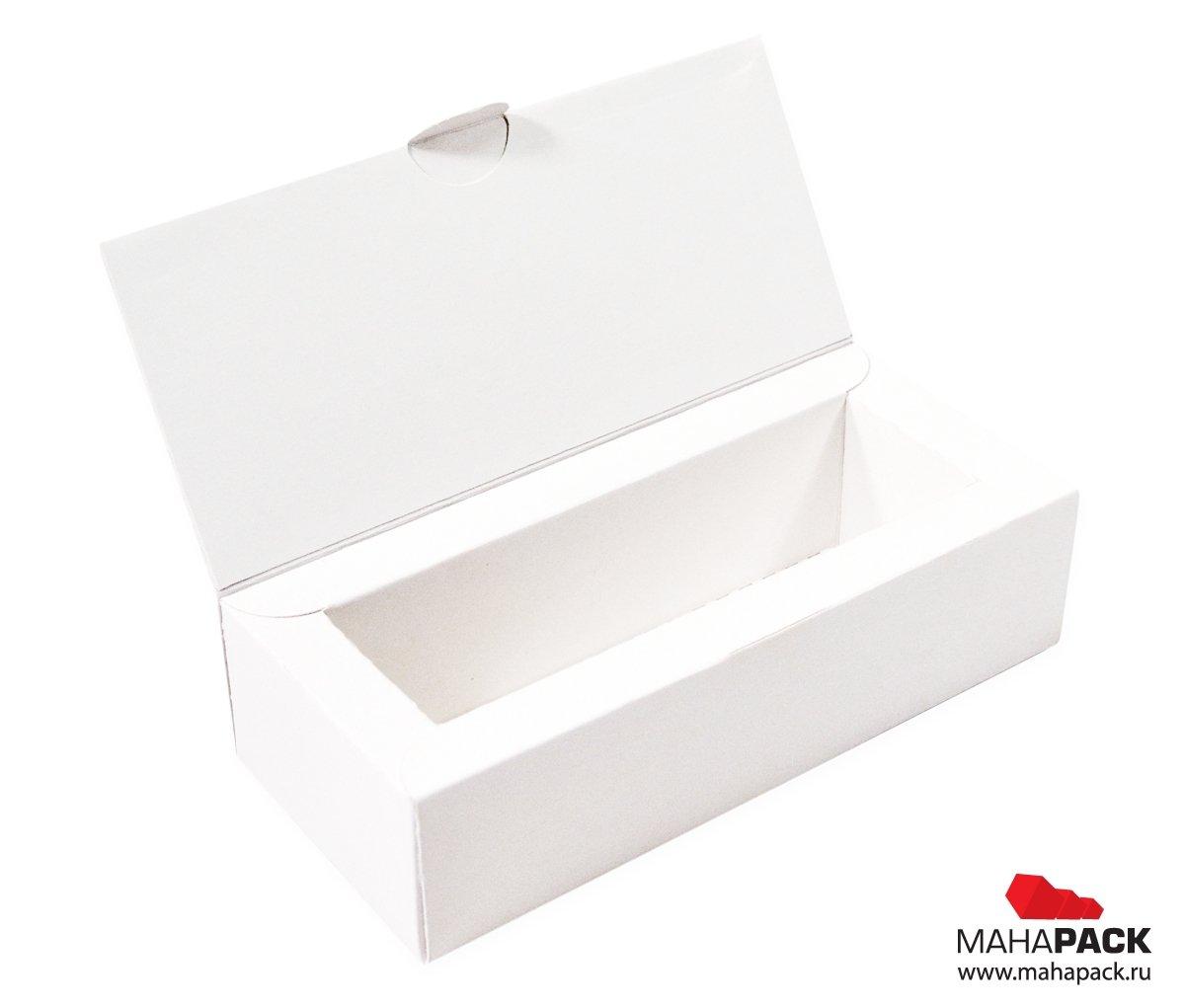 Фирменная коробка с двойными бортами с изящной обечайкой