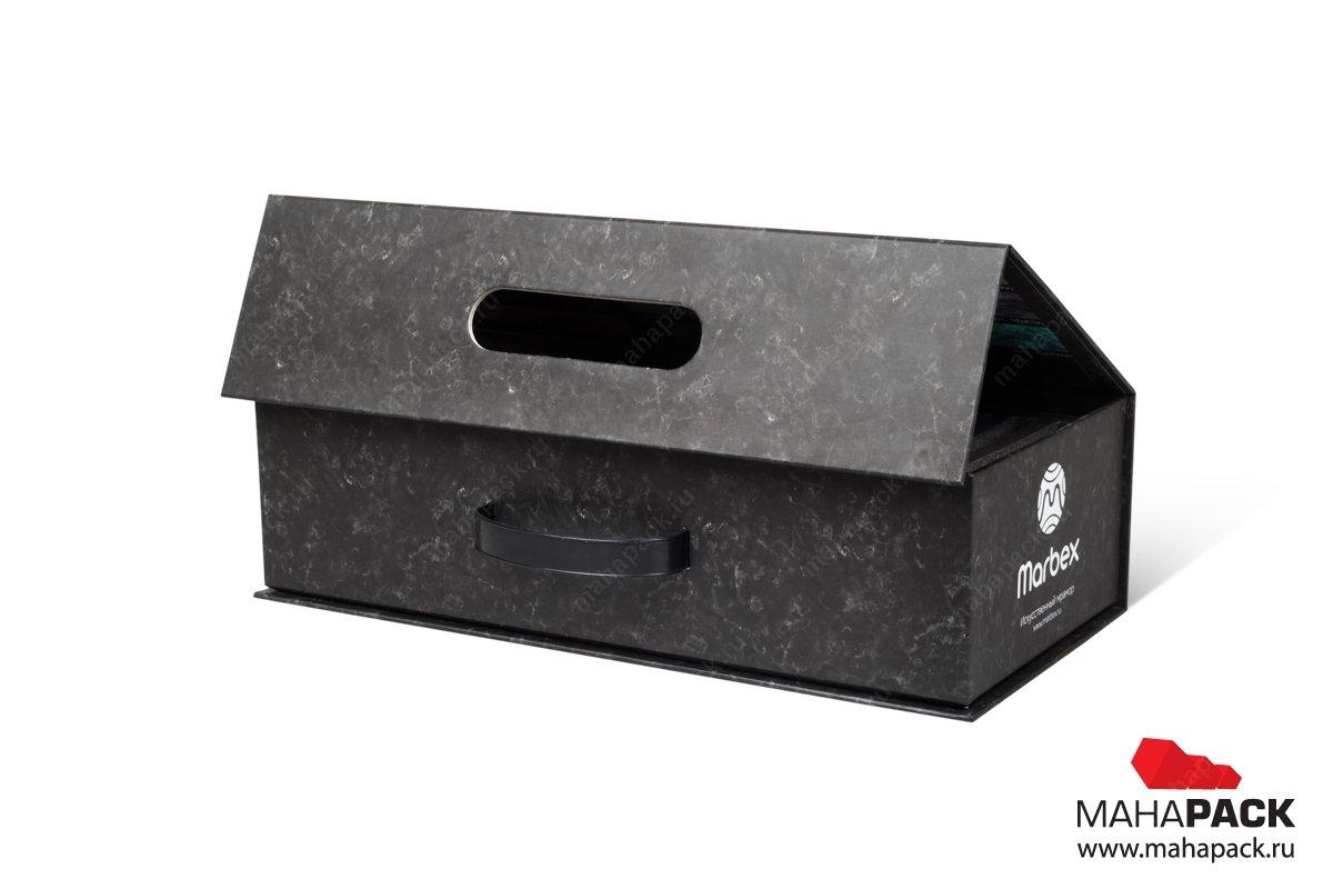 Коробка с ручкой заказать в Москве