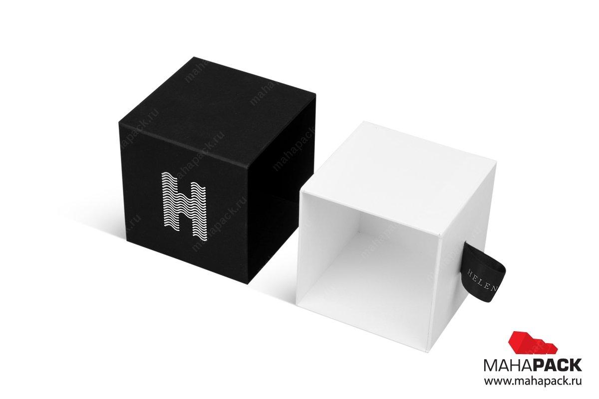 дизайнерская коробка из кашированного картона