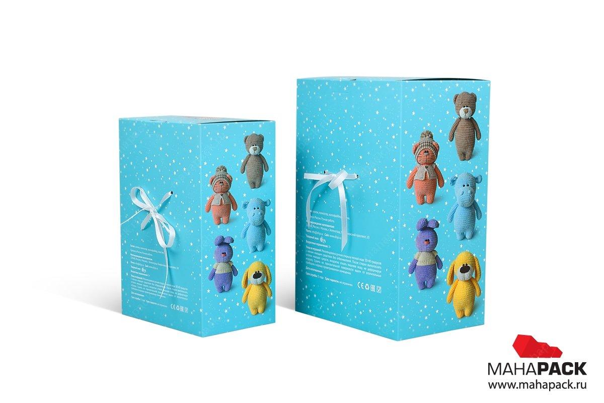 подарочные коробки из картона с матовой ламинацией