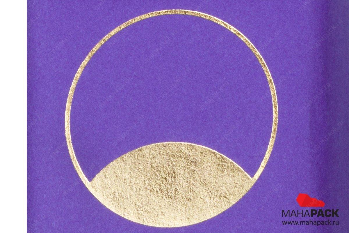 эксклюзивная упаковка тиснение золотой фольгой