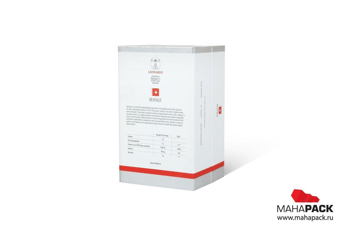 эксклюзивная упаковка с матовой ламинацией