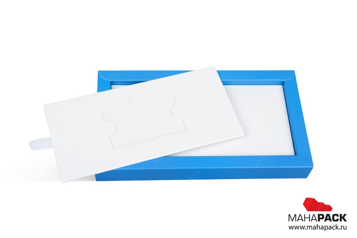 производство упаковки со съемным кардхолдером
