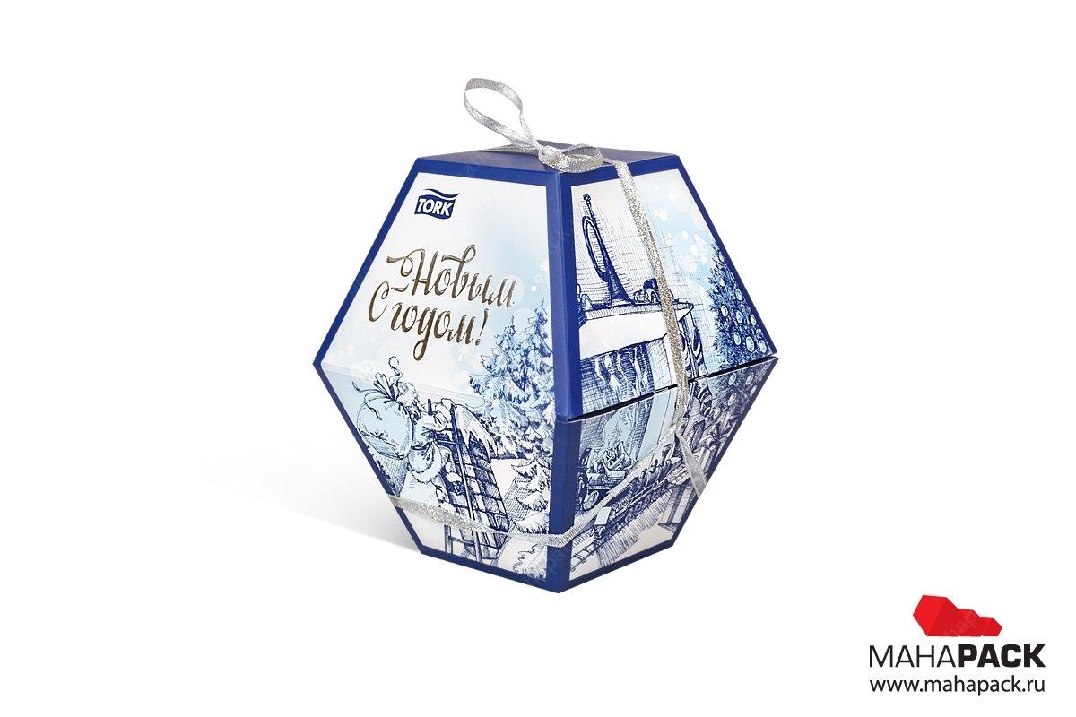 дизайнерская коробка заказать в Москве