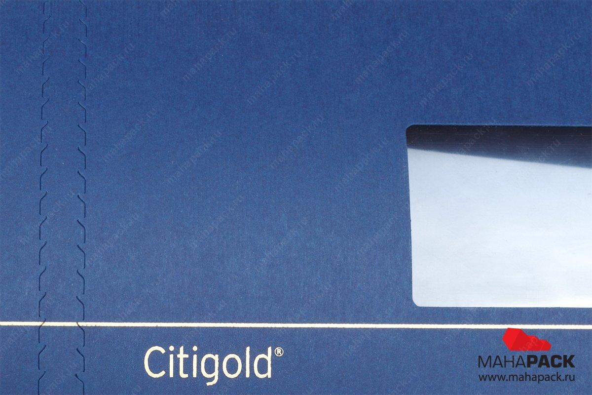 картонная упаковка на заказ с окошком