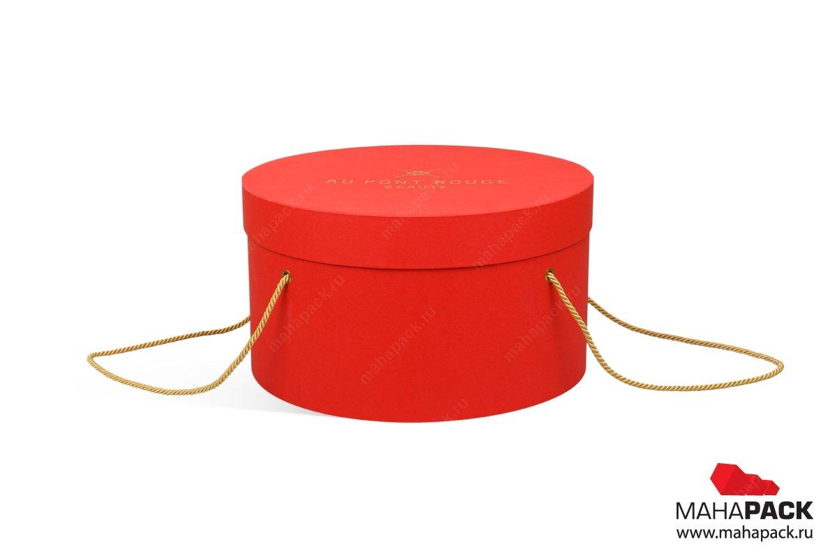 большие круглые коробки заказать в Москве