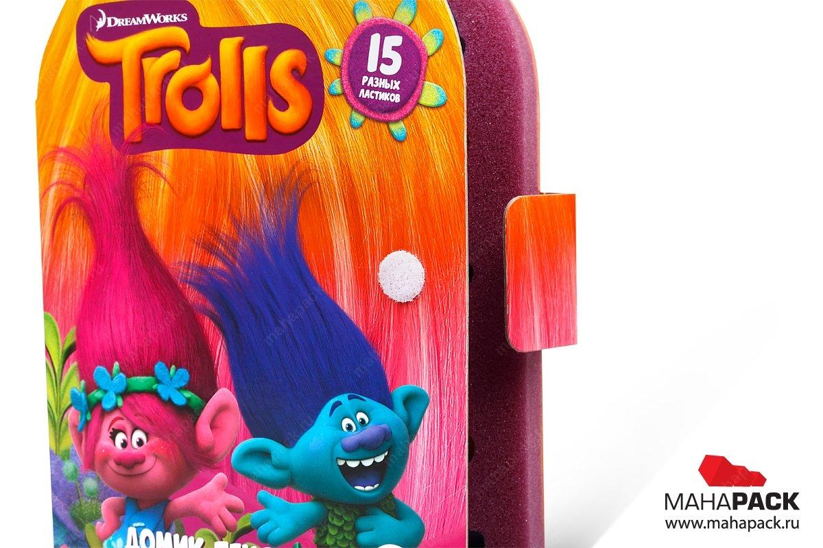 эксклюзивная упаковка полноцветная офсетная печать