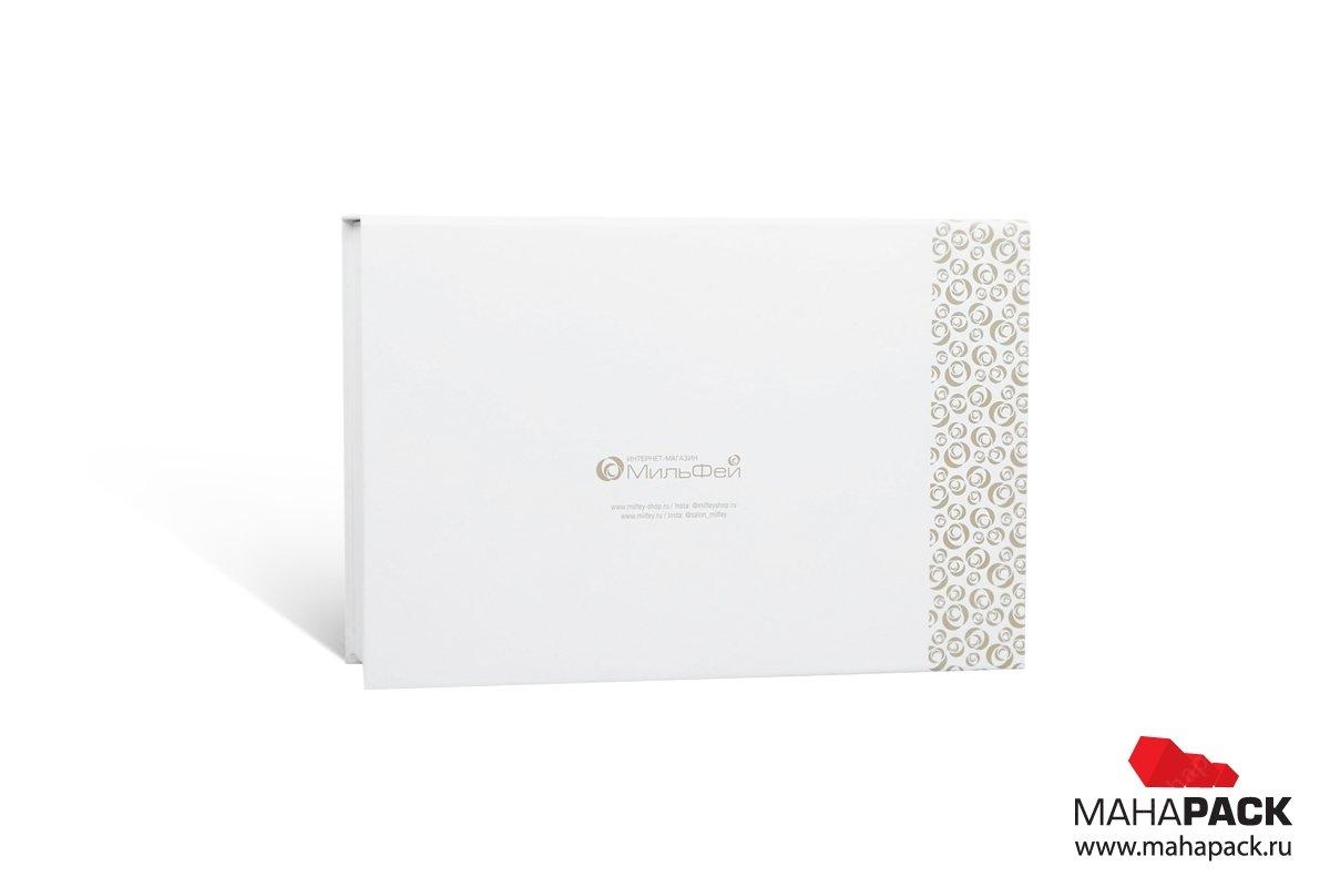 книга коробка матовая ламинация
