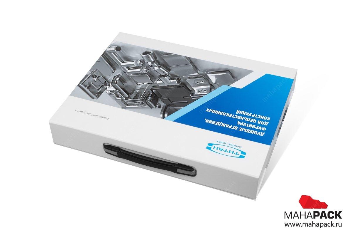 Упаковка с ложементом и пластиковой ручкой