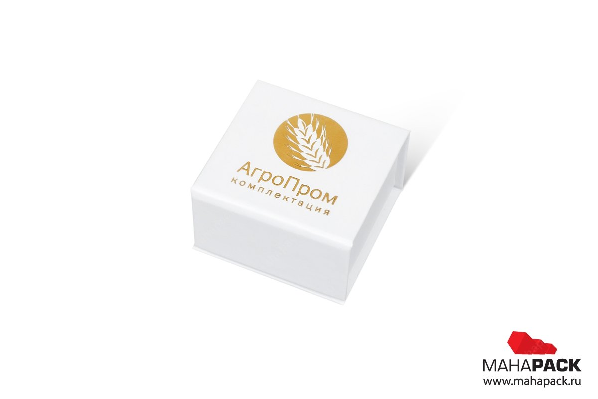 корпоративная упаковка из переплетного картона