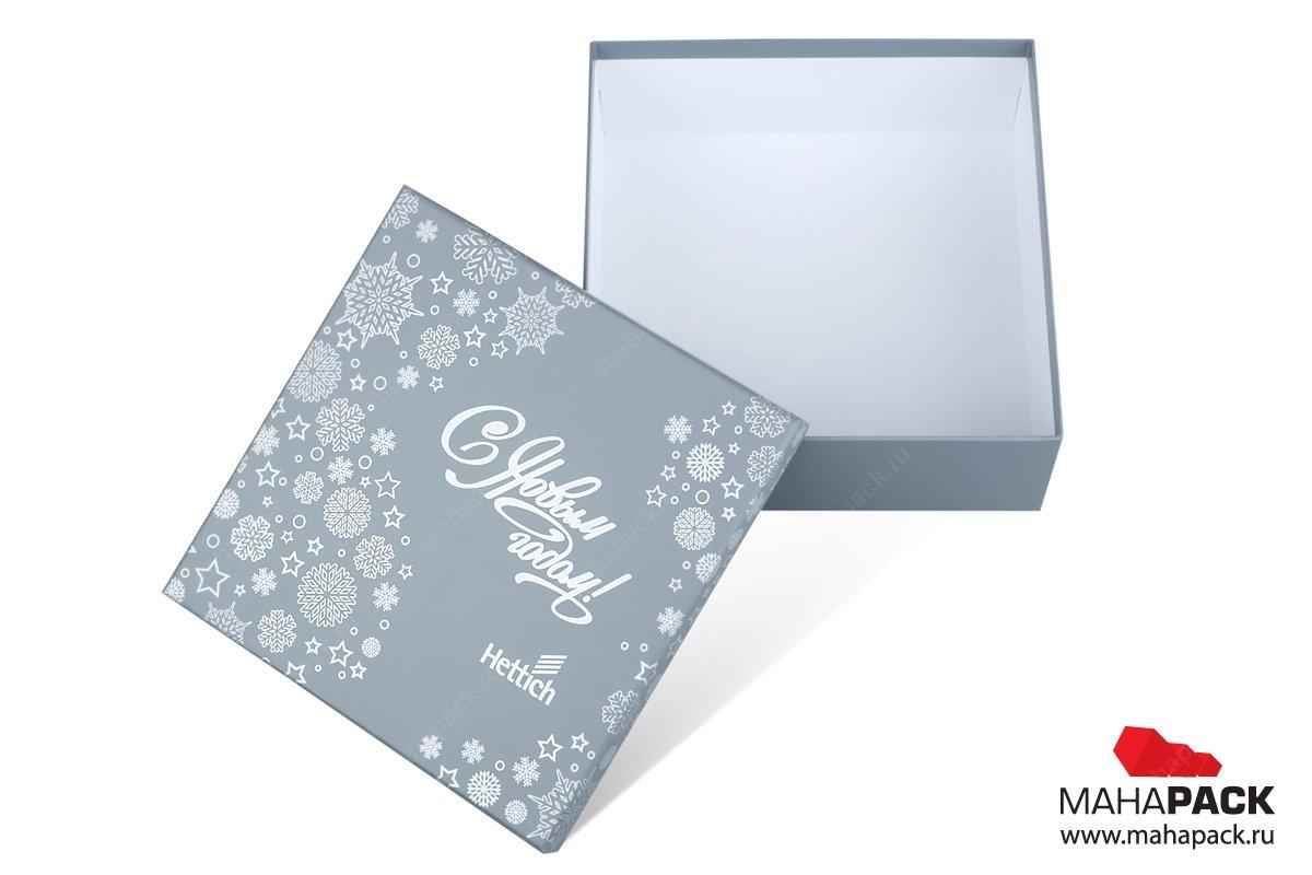 подарочные упаковки с логотипом - коробка крышка-дно