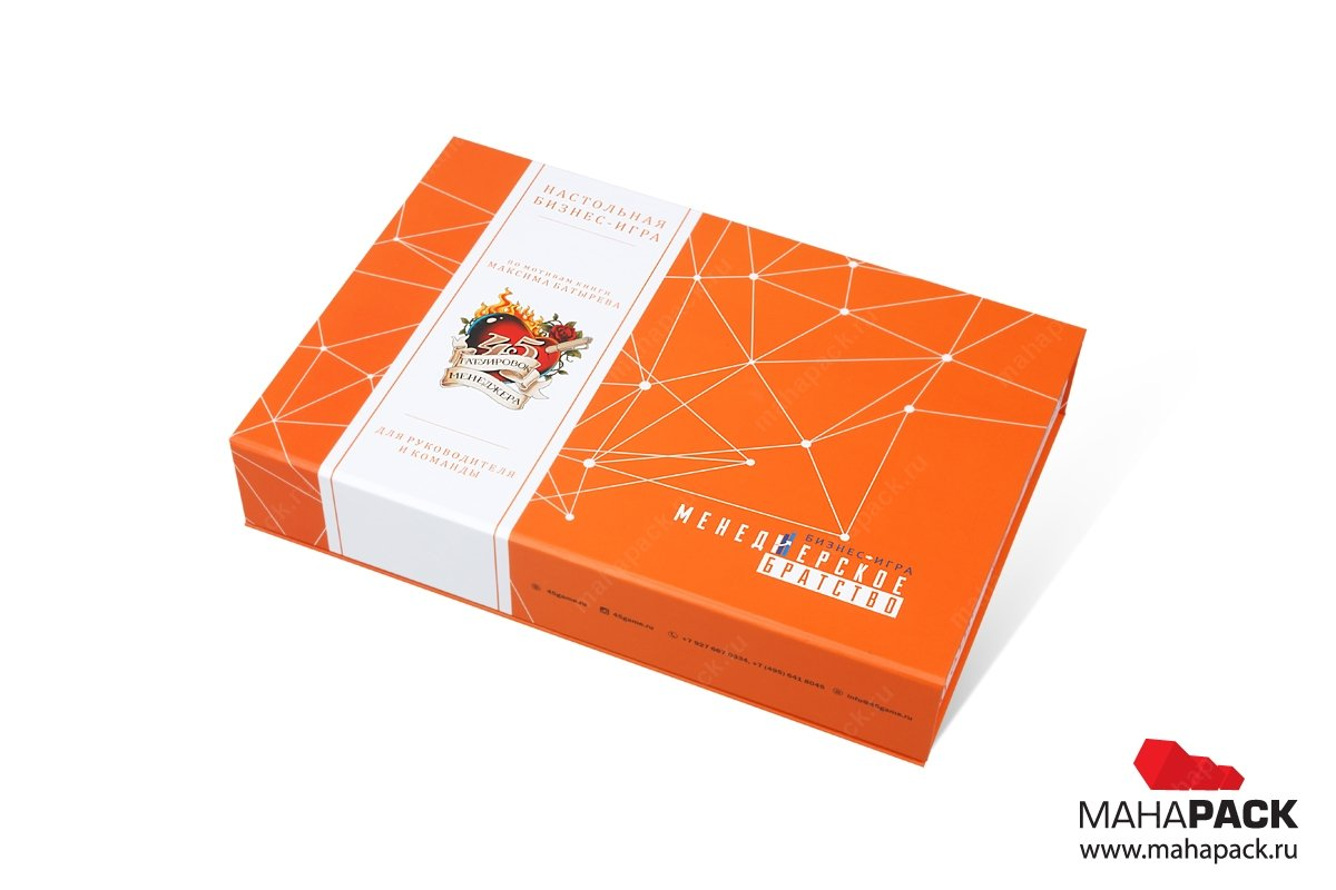изготовление коробок под заказ - матовая ламинация