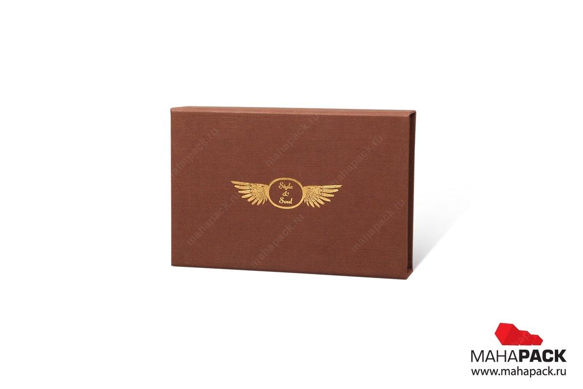 изготовление коробочки из переплетного картона