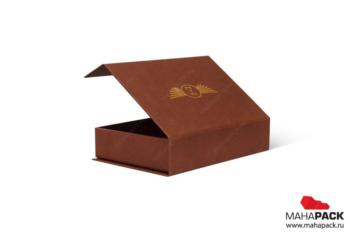 изготовление коробочки из кашированного картона