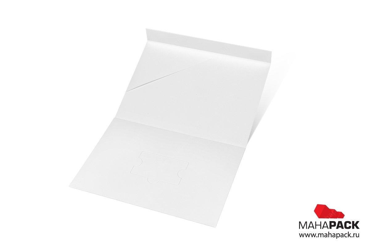 картонная подарочная упаковка с клапаном на магните