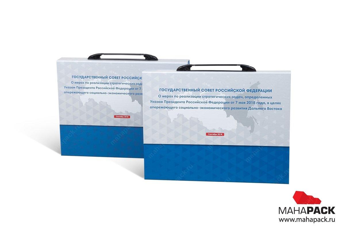 презентационная папка - заказать большим тиражом