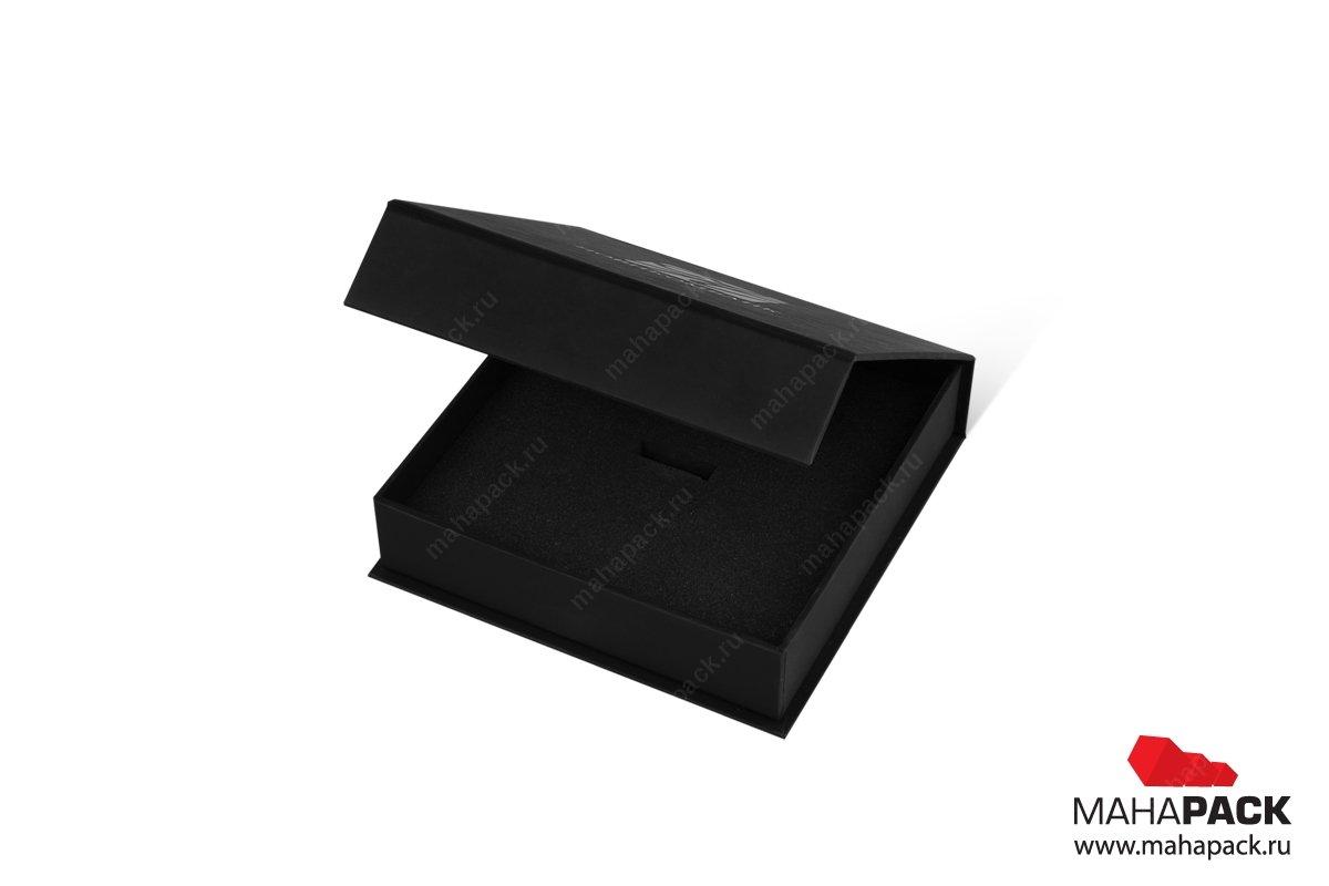 разработка фирменной упаковки - клапан на магните