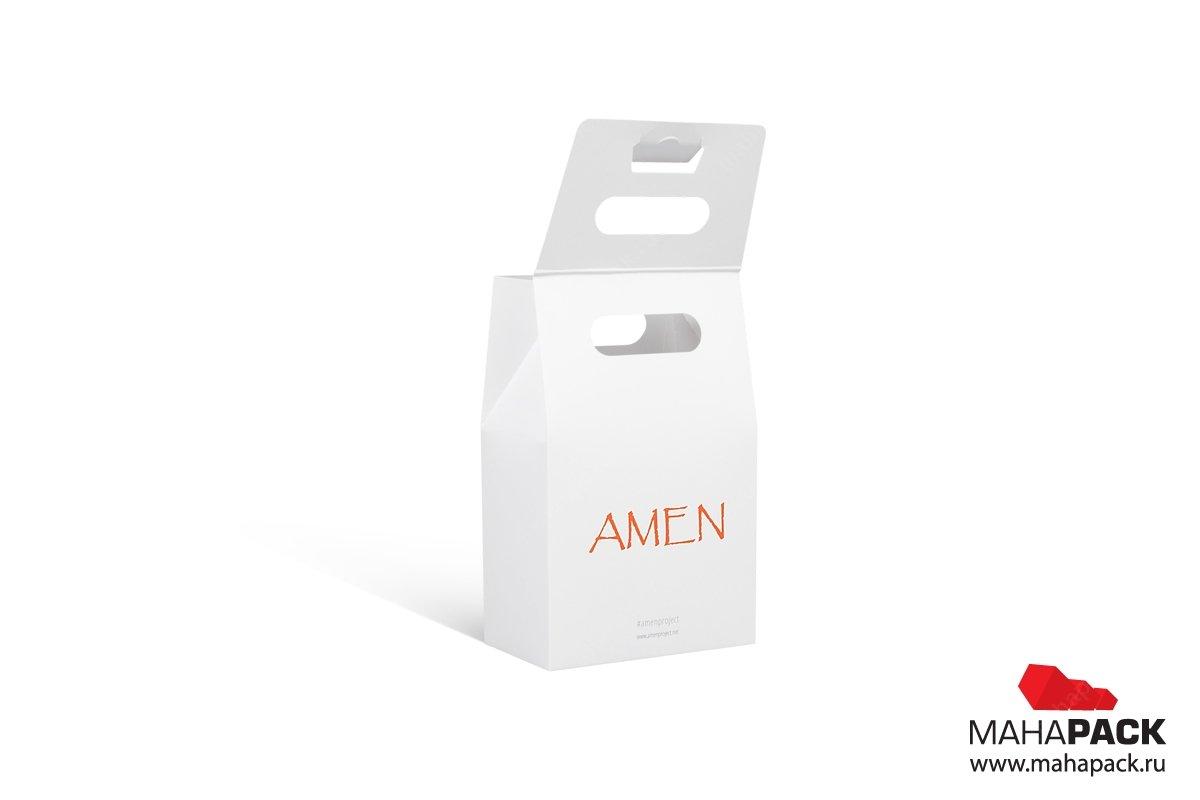упаковка на заказ из мелованного картона