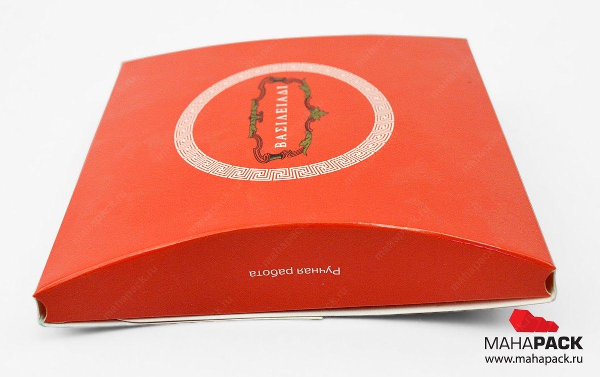 Коробка-пирожок — производство упаковки