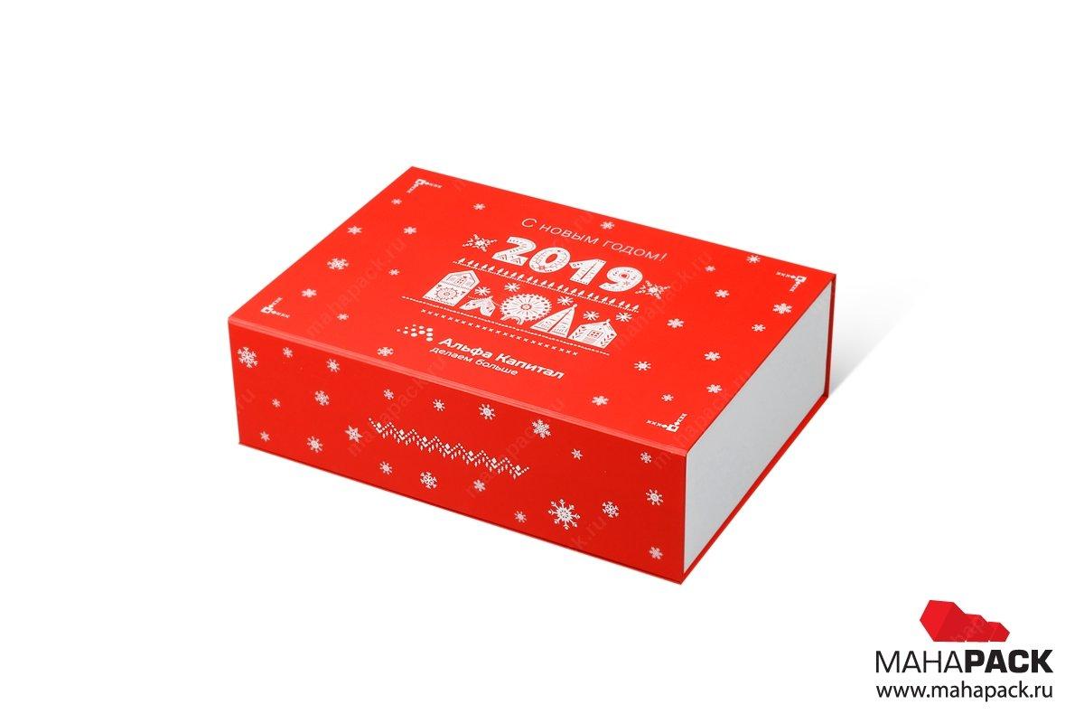 коробка подарочная с матовой ламинацией