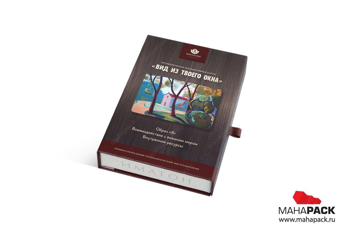 подарочная упаковка для игр из дизайнерского картона