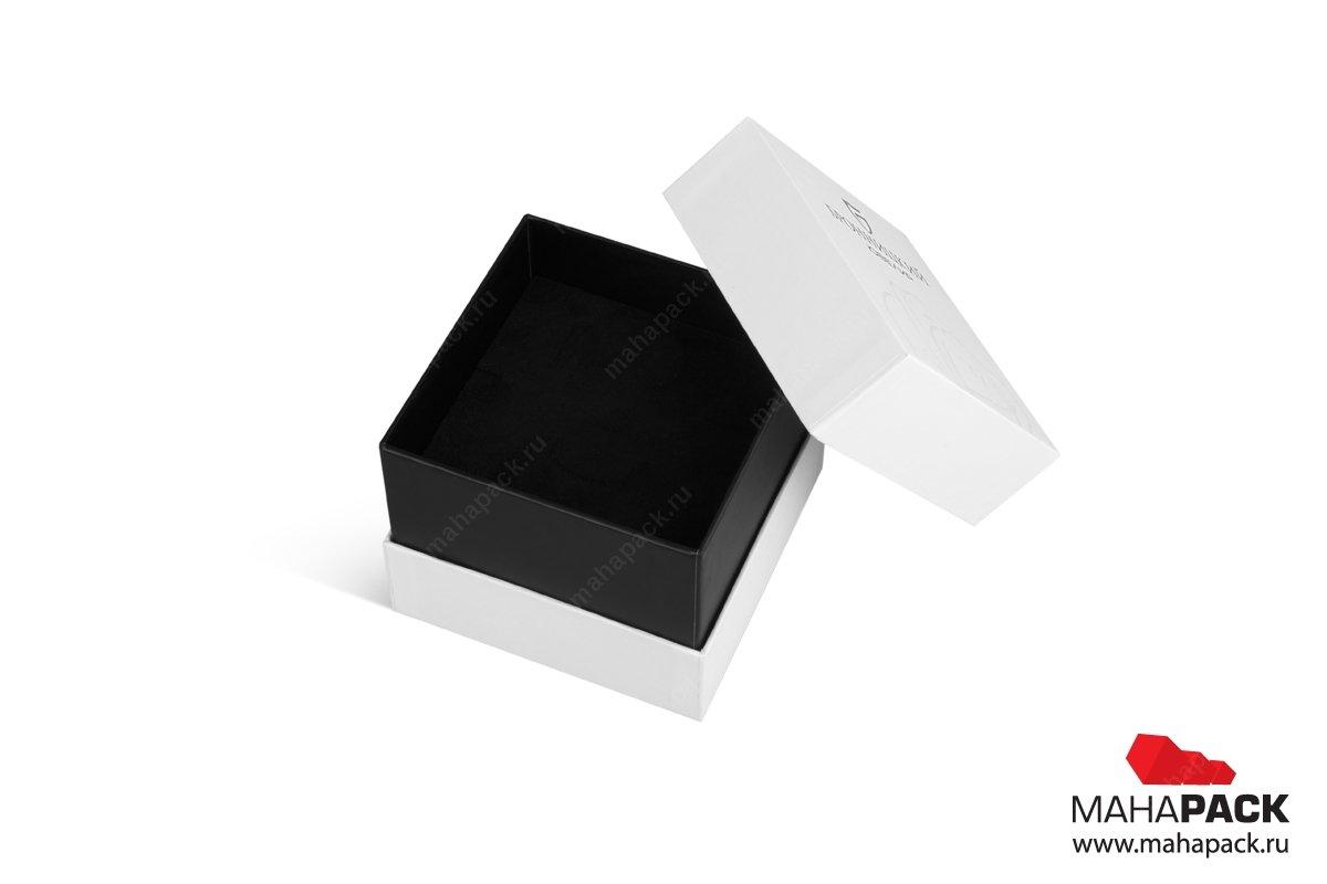 кашированная упаковка с ложементом под ювелирные изделия