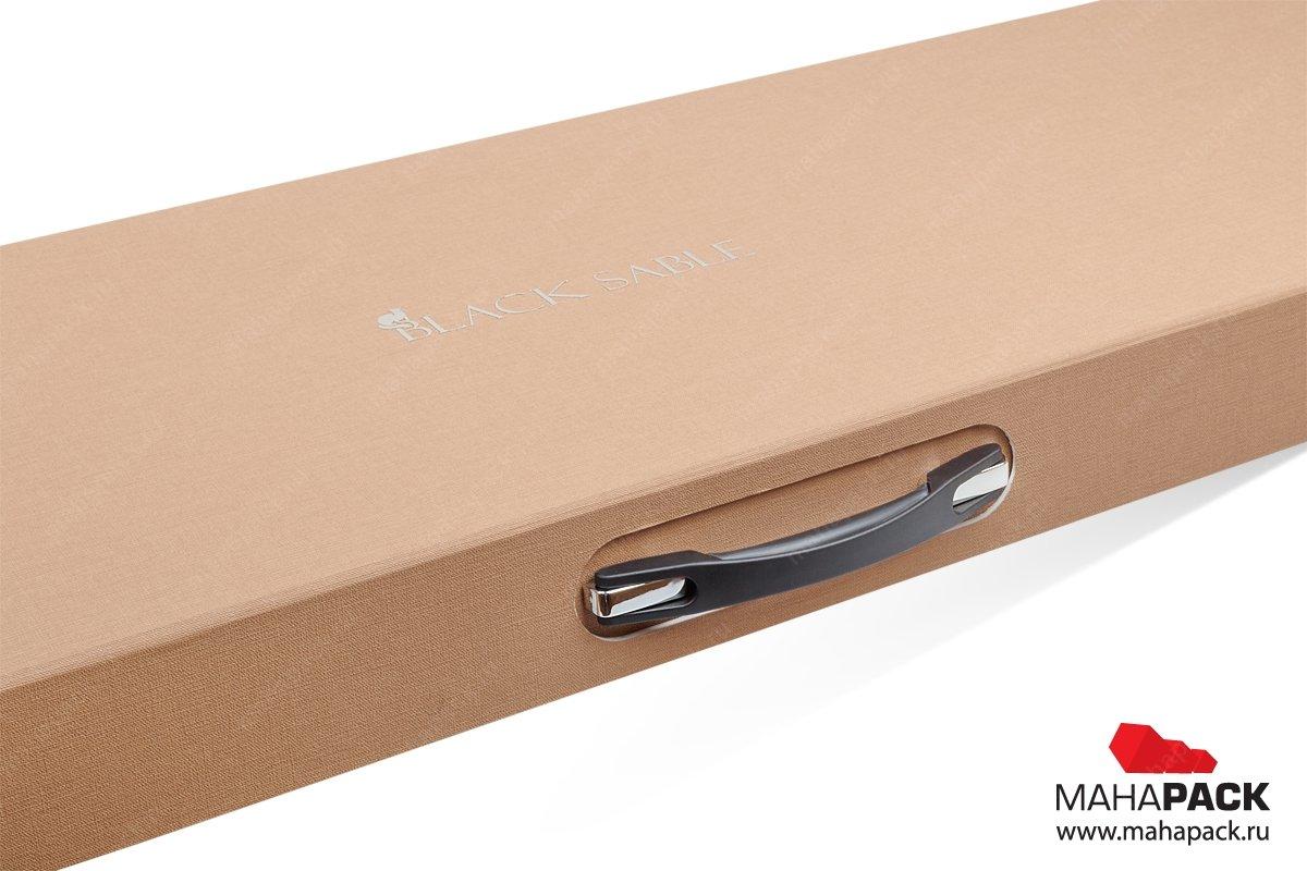 Коробка с ручкой индивидуальная