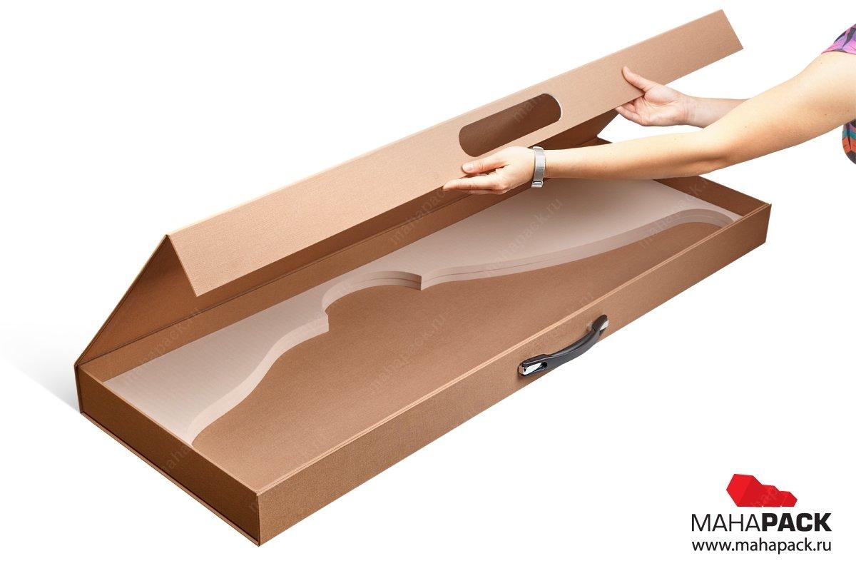 Дизайнерская коробка с ручкой под ружье