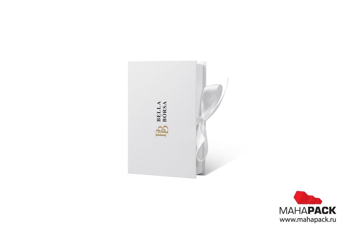 кашированная упаковка с тиснением фольгой