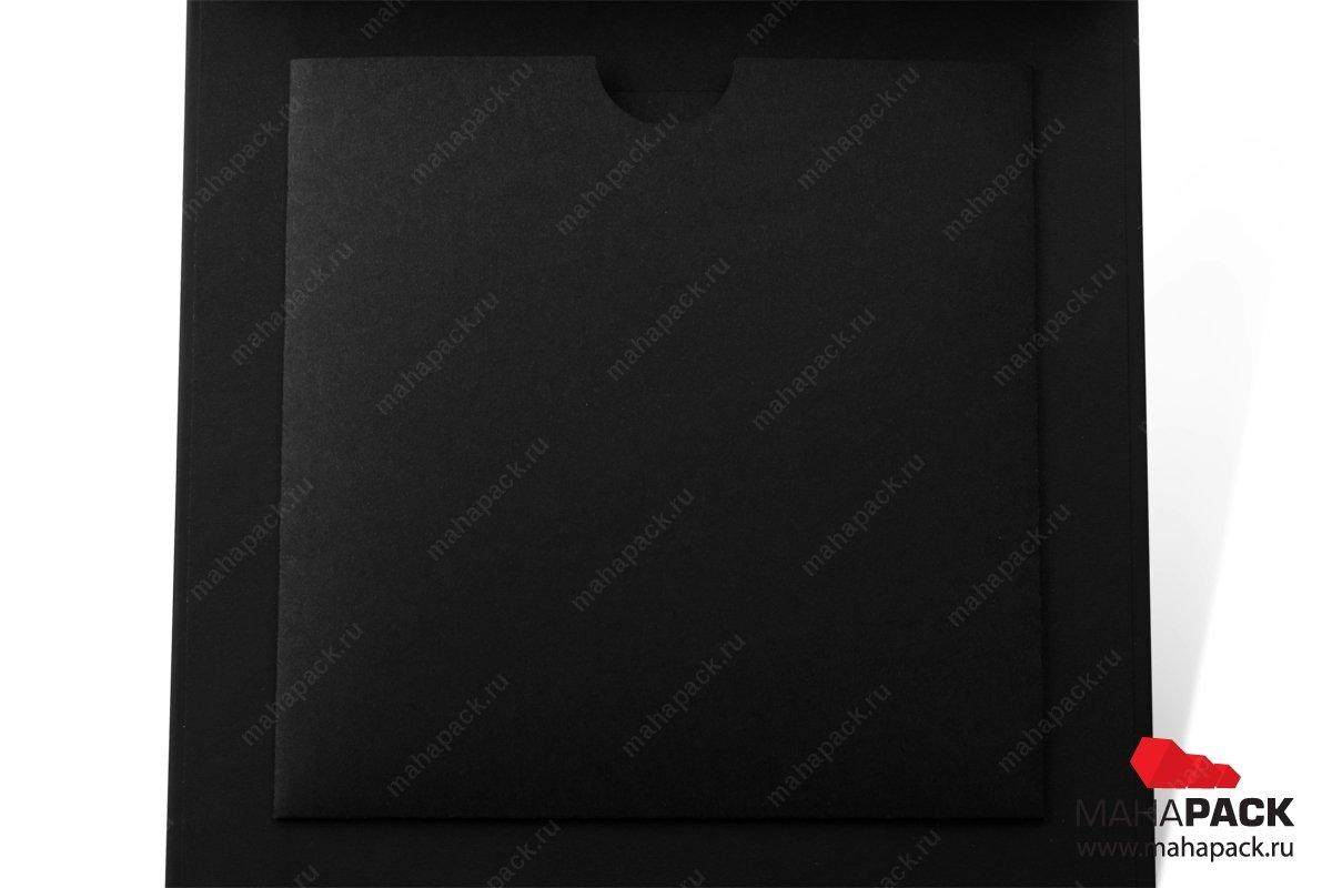 кашированная упаковка с картонным ложементом