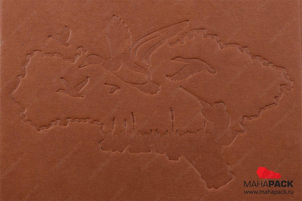 Подарочная коробка-книжка дизайнерская