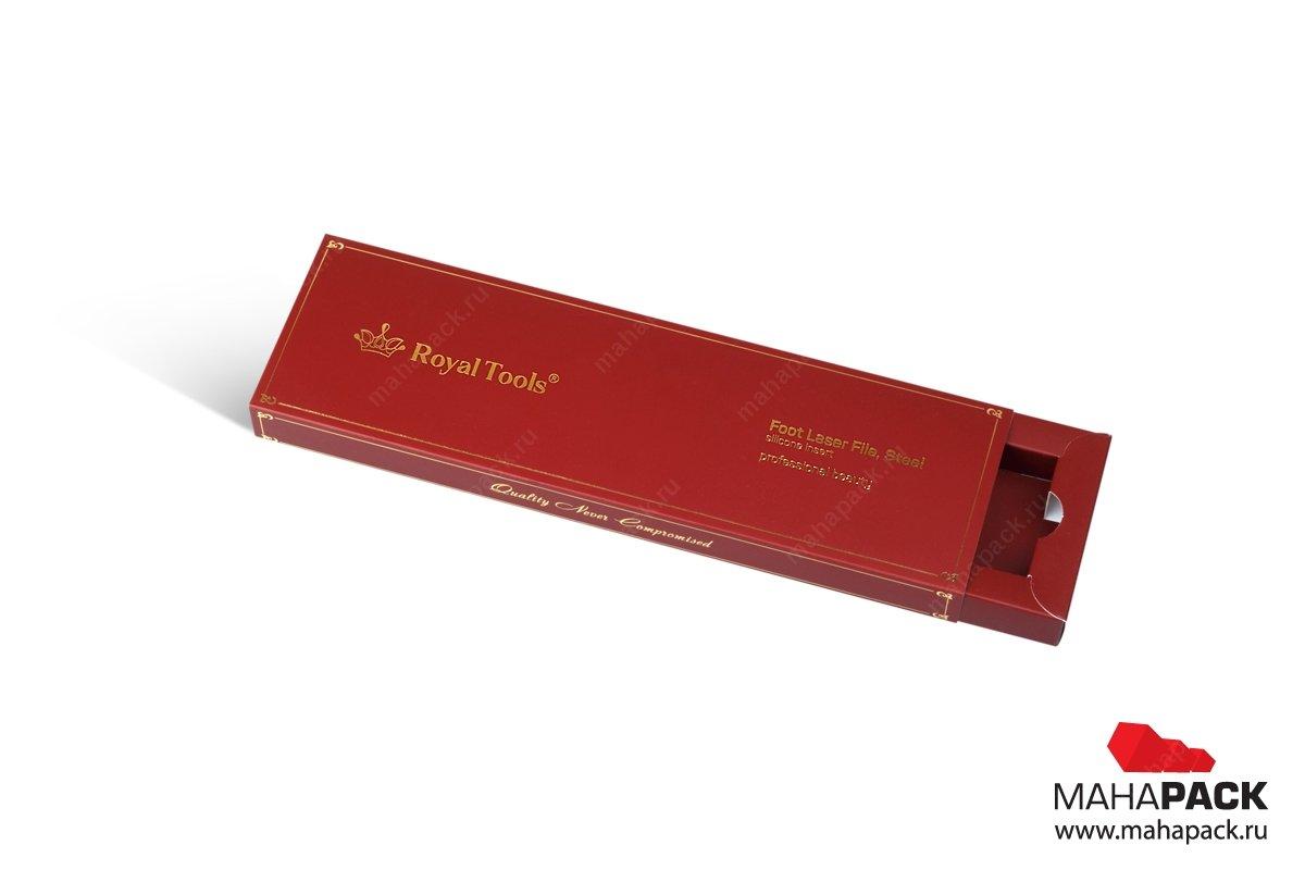 коробки с ложементом печать шелкографией