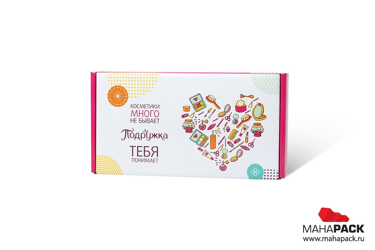 коробка самосборная с полноцветной печатью