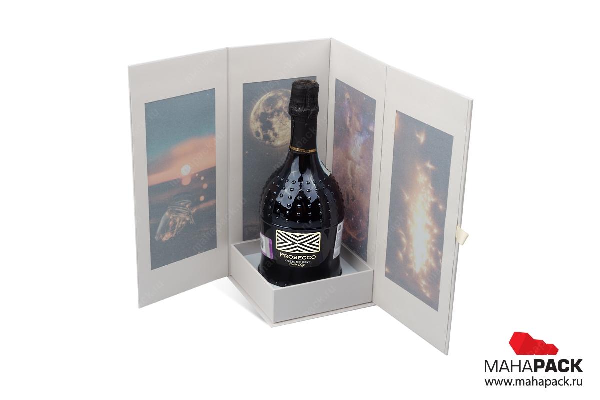производство подарочных коробок с логотипом тиснение фольгой